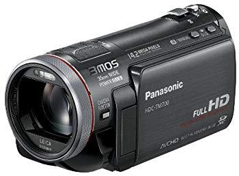 【中古】パナソニック デジタルハイビジョンビデオカメラ メタルブラック HDC-TM700-K