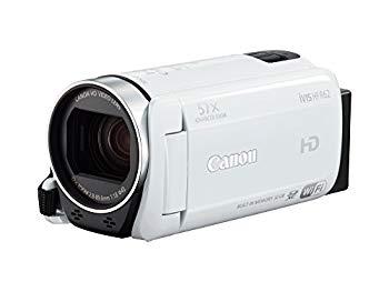 【中古】Canon デジタルビデオカメラ iVIS HF R62 光学32倍ズーム ホワイト IVISHFR62WH