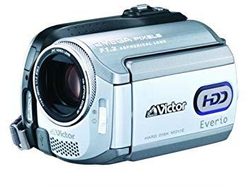 【中古】JVCケンウッド ビクター Everio エブリオ ビデオカメラ ハードディスクムービー 30GB GZ-MG255-W