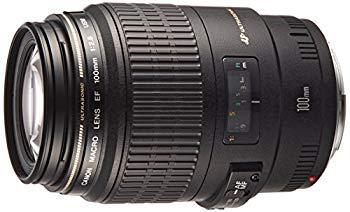 【中古】Canon 単焦点マクロレンズ EF100mm F2.8 マクロ USM フルサイズ対応
