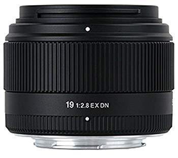 【中古】シグマ 19mm F2.8 EX DN ソニーEマウント用 デジタル専用 単焦点 広角 19mm F2.8 EX DN SE