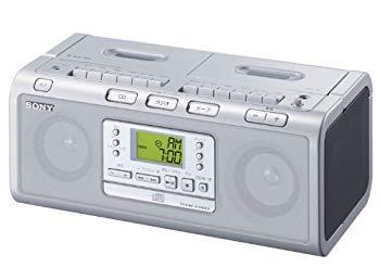 【中古】SONY CDラジカセ W78 シルバー CFD-W78/S