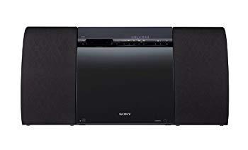 【中古】SONY ウォークマン用ドックコンポ CDプレーヤー内蔵 ラジオ内蔵 ブラック CMT-V30/B