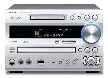 【中古】ONKYO CD/MDチューナーアンプ シルバー FR-N9NX(S)