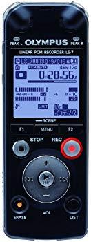 中古 OLYMPUS ICレコーダー Voice-Trek 4GB 販売実績No.1 BLK ブラック 新色追加 リニアPCM対応 LS-7