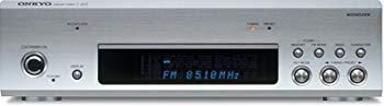 大規模セール 中古 ONKYO セール 特集 INTEC275 FM T-433 シルバー S AMチューナー