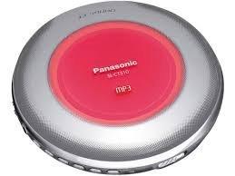 【中古】Panasonic SL-CT510-P ポータブルCDプレーヤー ピンク