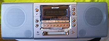 【中古】SHARP シャープ MD-F230-S MD/CDシステム (CD/MDデッキ/ラジカセ形状タイプ)