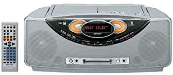 【中古】SHARP 1ビット MD/CDシステムSD-FX200-S(シルバー)