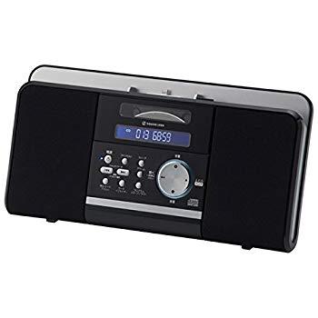 【中古】小泉成器 iPhone5/iPodドッキングステレオCDシステム ブラック SDI1300K