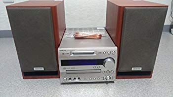 【中古】ONKYO FRシリーズ CD/MDチューナーアンプシステム 濃い木目スピーカー色モデル 木目 X-N7TX(D)