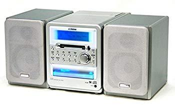 【中古】Victor ビクター JVC UX-Q1-S シルバー マイクロコンポーネントMDシステム (CD/MDコンポ)