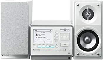 【中古】パナソニック SDステレオシステム D-dock CD/SD/40GB HDD搭載 ホワイト SC-SX400-W