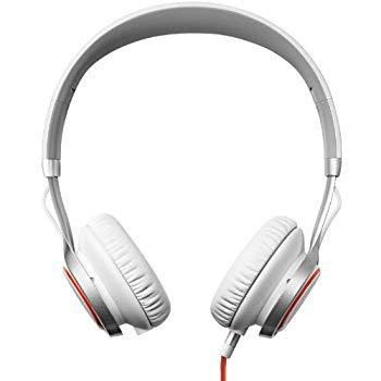 【中古】Jabra REVO Corded ホワイト ヘッドホン ヘッドセット(ステレオ オーバーヘッド)【日本正規代理店品】