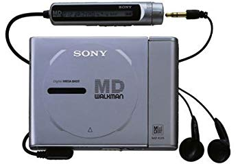 【中古】SONY MZ-E25-S シルバー ポータブルMDプレーヤー MDLP非対応 (MD再生専用機/MDウォークマン)