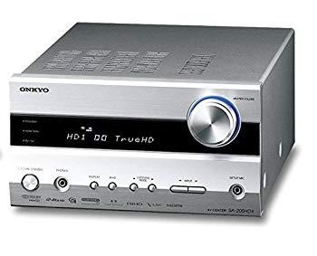 中古 ディスカウント ONKYO AVセンター 5.1ch対応 感謝価格 シルバー S 最大出力30W×5 SA-205HDX