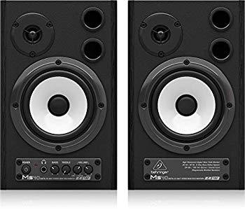 【中古】ベリンガー 24-bit/192 kHz デジタル 40 W ステレオニアフィールドモニター(2本セット) MS40