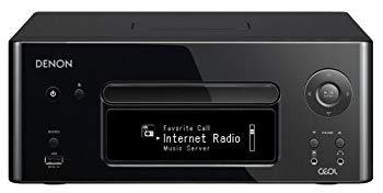 【中古】DENON CEOL ネットワークCDレシーバー AirPlay/ハイレゾ音源対応 ブラック RCD-N8-K