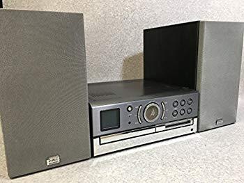【中古】SHARP シャープ SD-CX9-H グレー 1ビットデジタルシステム(1-BIT/CD/MDコンポ)(本体SD-CX9-HとスピーカーSD-CX9-Hのセット)