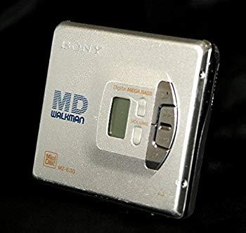 【中古】SONY ソニー MZ-E30-S シルバー ポータブルMDプレーヤー MDLP非対応 (MD再生専用機/MDウォークマン)