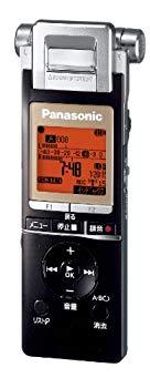【中古】パナソニック ICレコーダー 4GB ブラック RR-XS700-K