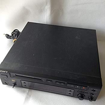 【中古】SONY ソニー MDS-S37 ブラック ミニディスクデッキ (MDデッキ/単体コンポ) MDLP非対応