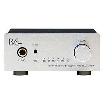 【中古】ラトックシステム 24bit/192kHz対応 DAC内蔵ヘッドホンアンプ RAL-24192HA1