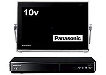 【中古】パナソニック 10V型 液晶 テレビ プライベート・ビエラ UN-10TD6-K ブルーレイディスクプレイヤー付HDDレコーダー付き