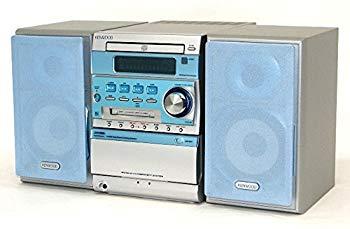 【中古】KENWOOD ケンウッド JVC SJ-3MD-L ブルー マイクロハイファイコンポーネントシステム (CD/MD/カセットコンポ)(本体RXD-SJ3MDとスピーカーL