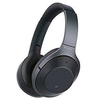【中古】ソニー SONY ワイヤレスノイズキャンセリングヘッドホン WH-1000XM2 B : Bluetooth/ハイレゾ 最大30時間連続再生 密閉型 マイク付 2017年 ブラッ