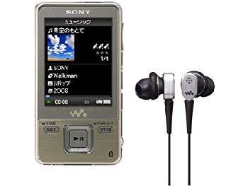 【中古】SONY ウォークマン Aシリーズ ビデオ対応 16GB ゴールド NW-A829/NM1