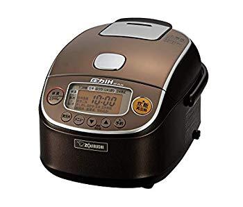 【中古】象印 炊飯器 圧力IH式 3合 極め炊き 黒まる厚釜 ブラウン NP-RL05-TA