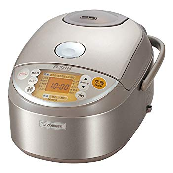【中古】象印 圧力IH炊飯器 5.5合 ステンレス NP-NV10-XA