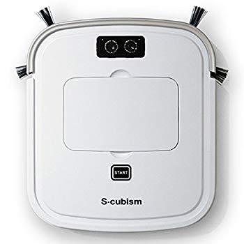 【中古】S-cubism 超薄型床用ロボット掃除機 SCC-R05PW