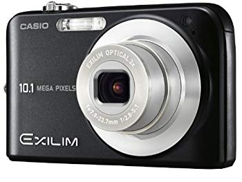 【中古】CASIO デジタルカメラ EXILIM (エクシリム) ZOOM ブラック EX-Z1080BK