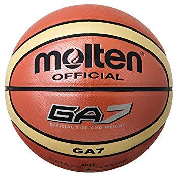 【中古】molten(モルテン) バスケットボール GA7 人工皮革7号 BGA7