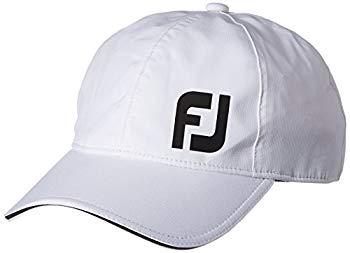 【中古】(フットジョイ)FootJoy レインキャップ FJHW1604 WT WT Men'sフリー(57cm~59cm)