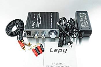 中古 未使用 未開封品 Lepy 新モデル LP-2024A+ ブラック 12V5A デジタルアンプ +バナナプラグ ランキングTOP5 LP-2020A 本体+RCAオーディオコード+ACアダプタ 激安 バージョンアップ版