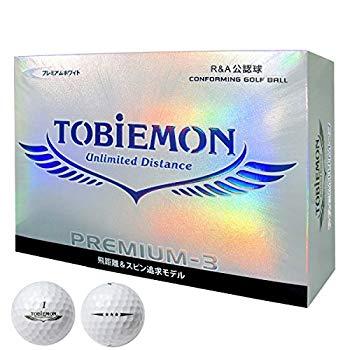 【中古】JPLAドラコン ゴルフボール 公式試合球 PREMIUM-3 プロ仕様 3ピースボール 1ダース(12個入り) プレミアムホワイト