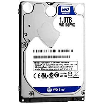 輝い WD HDD 内蔵ハードディスク 2.5インチ 1TB WD Blue WD10JPVX SATA3.0 5400rpm 8MB 9.5mm 2年保証 PS4動作検証済み, セグレート c7eb660b