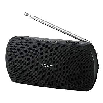 中古 未使用 未開封品 ソニー SONY ポータブルラジオ SRF-19 ワイドFM対応 ブラック B 日時指定 FM 本物 : AM