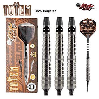 【中古】Shot! Darts ソフトティップダーツ ― トーテム ソフトティップダーツ フロントウエイト 21g タングステン85%バレル