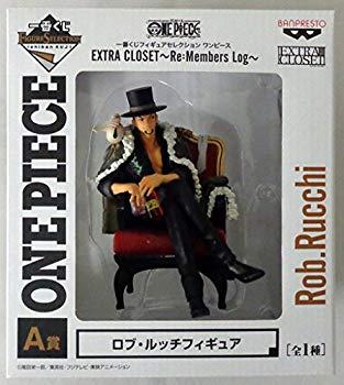 【中古】一番くじ フィギュアセレクション ワンピース EXTRA CLOSET~Re:Members Log~  A賞  ロブ・ルッチフィギュア