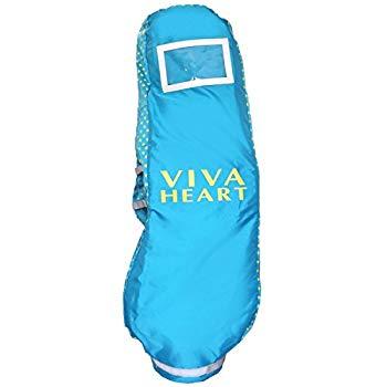 【中古】VIVA HEART(ビバハート) トラベルカバー ビバハート レディース トラベルカバー VHO003 VHレディーストラベルカバー VHO003 ブルー レディース V