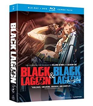中古 着後レビューで 送料無料 ブラック ラグーン 北米版 業界No.1 第1~2期
