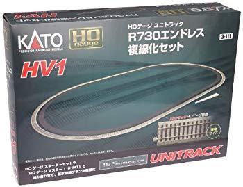 卓越 中古 KATO HOゲージ HV-1 R730 エンドレス複線化セット 鉄道模型 レールセット 激安特価品 3-111
