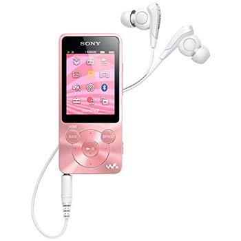 【中古】SONY ウォークマン Sシリーズ 8GB ライトピンク NW-S784/PI