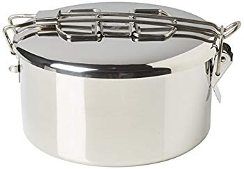 Zebra 152314 Stainless Steel Food Box and Pan with Snap on Lid 14cm Silver by Zebra:ドリエムコーポレーション