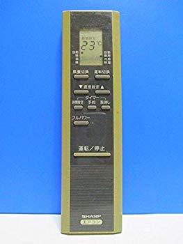 【中古】シャープ エアコンリモコン CRMC-A278JBEO