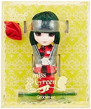【中古】グルーヴ Little Pullip+/miss 緑 ミス・グリーン LP-402